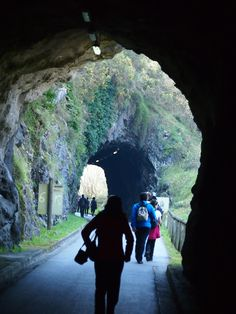 Entre túneles. Ruta de Fuso de la Reina, #Asturias