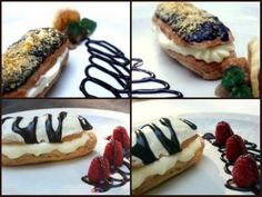 plated eclairs - Bing Images