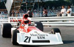 Niki Lauda BRM-P160 GP Monaco 1973