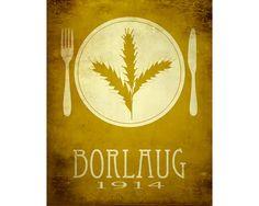 Norman Borlaug 8x10 Science Art Print  Rock Star by meganlee