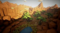Related image Art Things, 3d Modeling, Low Poly, Neverland, Environment, Image, Finding Neverland