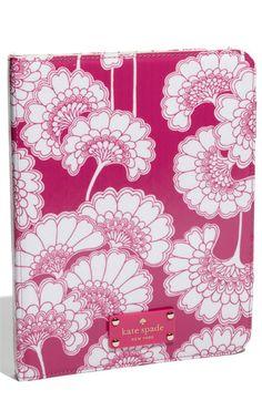 kate spade new york 'japanese floral' iPad 2 folio