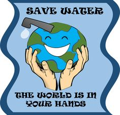 ways to save water clipart www pixshark images Water Poster, Poster On, Poster Boards, Poster Ideas, Water Conservation Slogans, Save Water Slogans, Grade 2 Science, Ways To Save Water, World Water Day