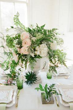 Light and fresh botanical inspiration