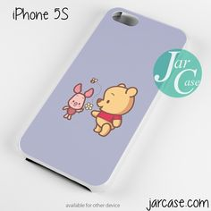 Piglet And Pooh Phone case for iPhone 4/4s/5/5c/5s/6/6 plus