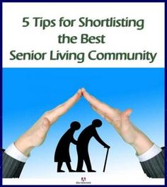 Are you looking for a living community for your beloved seniors? Of course, you must select the one that is the best. But what should be your criteria for choosing an old age home? Here's the post that gives you the tips and ideas for selecting the best senior living community. More at the blog. :)