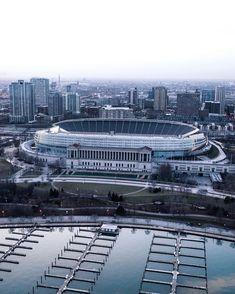 Soldier Field (@soldier_field) • Instagram photos and videos Soldier Field, Football Stadiums, Chicago Bears, Paris Skyline, Photo And Video, Travel, Instagram, Videos, Photos