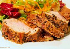Soczysta polędwiczka wieprzowa pieczona w rękawie - DoradcaSmaku.pl Meatloaf, Banana Bread, Sandwiches, Tacos, Pork, Food And Drink, Menu, Cooking, Desserts