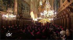 Wizyta Ojca Świętego Franciszka du Katedra na Wawelu, Kraków, Polska 27 ...