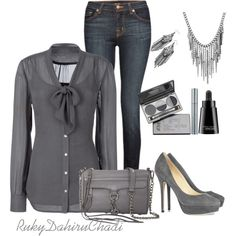 Sometimes it's nice to rock the work casual outfits! #classy #casual #chic