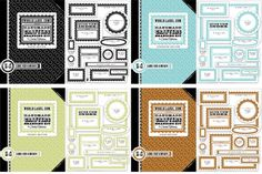 I'm Lovin' It: FREE Crafting Labels Branding Kit from Cathe Holden