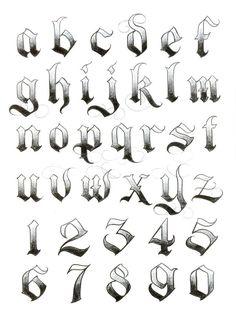 Foto Tattoo Idees tattoo styles, tattoo style names, tattoo styles tattoo styles Calligraphy Fonts Alphabet, Tattoo Fonts Alphabet, Hand Lettering Alphabet, Graffiti Alphabet, Number Tattoo Fonts, Graffiti Numbers, Tattoo Lettering Styles, Chicano Lettering, Graffiti Lettering Fonts