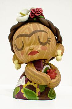 Munny Frida Kahlo on Toy Design Served