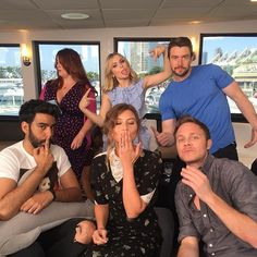 Moments before going live on Facebook. #CWSDCC #izombie