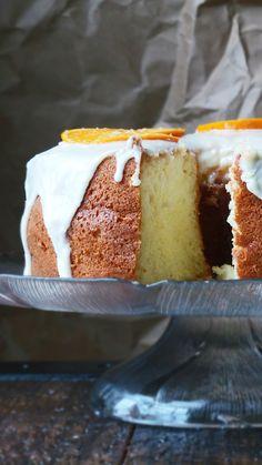 Orange Chiffon Cake - the PERFECT Easter cake!