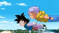 Goten and Trunks end up on an unintended adventure. Could their misfortune lead to the end of all existence as we know it! Stranger things have happened in this universe. Goten Y Trunks, Stranger Things Have Happened, Anime Reviews, Dragon Ball Gt, Art Sketches, Anime Characters, Fan Art, Yolo, Cartoons