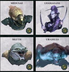 Medusae,Dark Eldar,Warhammer 40000,warhammer40000, warhammer40k, warhammer 40k, ваха, сорокотысячник,фэндомы,Lhamaean,Sslyth,Ur-ghul
