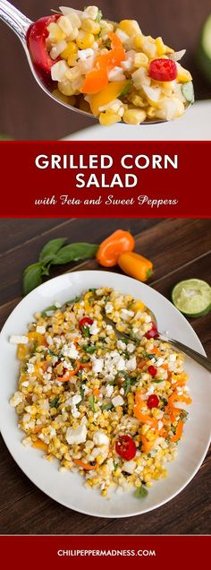 salad grilled sweet potato and corn salad recipes dishmaps grilled ...