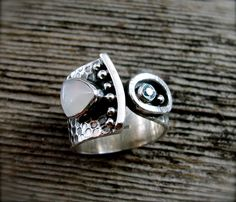 Between the Moon and Stars Ring