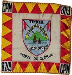 Companhia de Polícia Militar 8249/74 Cabo Verde - inicialmente destacada para Timor foi desviada para Cabo Verde