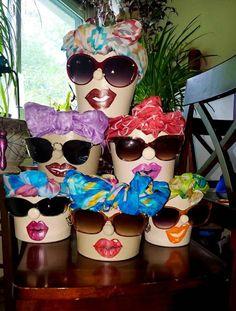 Clay Flower Pots, Flower Pot Crafts, Flower Planters, Clay Pots, Flower Diy, Clay Pot Projects, Clay Pot Crafts, Crafts To Do, Vase Crafts
