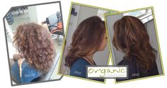 Brunette Highlights using Organic Colour Systems..