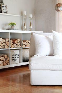 Livingroom #Ikea #Lack #Housedoctor #MajaDecor