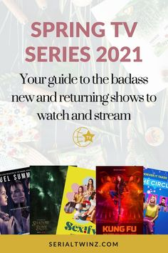 Hey Serial Fans and welcome to the Spring TV Series 2021: Your Guide To The Badass New And Returning Shows. In this guide, we are recommending you the best TV series to watch and stream this Spring. And in the Spring TV series 2021 guide, we have selected only the best badass new and returning shows premiering or released in April 2021. We selected fantasy, comedy, drama. action, dramedy, and more series. #TVSeries #TVShows #BestTVShows #ShowsToWatch Best Tv Shows, Favorite Tv Shows, Tv Series To Watch, Tv Guide, Apple Tv, Thriller, Badass, Comedy, Drama