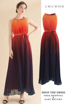 e2849847ee6 Search results for   Gradient Pleated Maxi Dress  - Retro