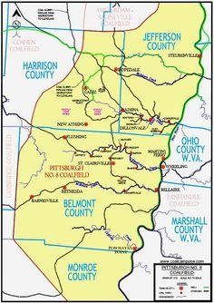 """Giant Shovel on Strip Mine Fight: 1973 Surface Mining, Coal Mining, Cadiz, Shovel, West Virginia, Tractors, Egypt, Ohio, Gem"