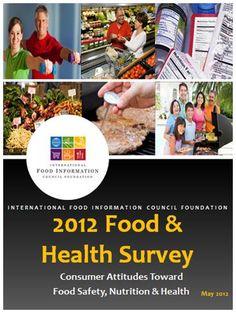 2012 Food & Health Survey: Consumer Attitudes toward Food Safety, Nutrition and Health