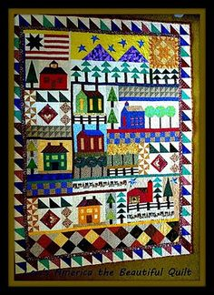 America The Beautiful Quilt By Kat T At Craftsy Pattern