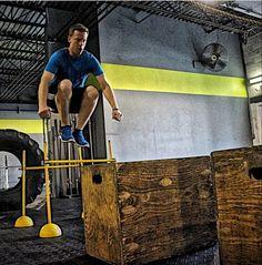 Crossfit: Box Jumps