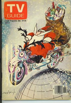 TV Guide - December 23 - 1978 - cover art by Ronald Searle Christmas Cover, Christmas Past, Christmas Images, Christmas Toys, Xmas, Christmas Catalogs, Cozy Christmas, Vintage Tv, Vintage Holiday