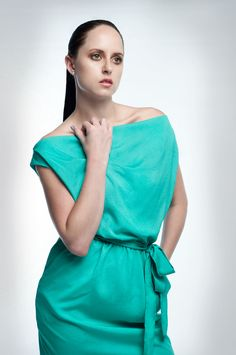 Nadine van Driel - The Open Window Alumni // Catalogue fashion shoot, year major portfolio Fashion Catalogue, Open Window, Fashion Shoot, Green Dress, Modeling Portfolio, Van, Tops, Dresses, Women