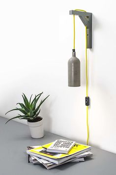Kikke Concrete Wall Lamp by Studio Kikke & Hebbe made in The Netherlands on CROWDYHOUSE