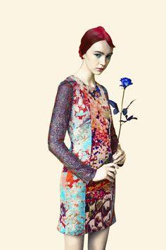 Digital | Mary Katrantzou S/S 2012 Look Book | Pattern People | Surface Design + Inspiration