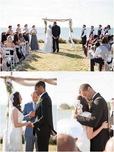 Coastal Vintage Outdoor Wedding by McPherson Photography - KnotsVilla