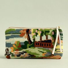 Canevas Land pouch from Atelier Beau Travail