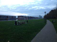 picknicken in de stad
