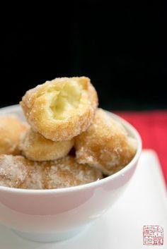 Chinese Sugar Egg Puffs (Sai Yong): Easiest Donuts Ever - Dessert First