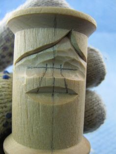 I've been carving thread spools since the early 1980's. I can't recall how many I've done but they've been great for practice. I've done two chess sets. One went to a set collector in Australia. I …