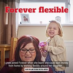 Real Forever Living story. Check out 'Forever flexible'. #FacesOfForever http://wu.to/pTzKfc