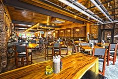 TownHall restaurant, bar, and urban cafe by Anise E. Nakhel, Cleveland – Ohio » Retail Design Blog