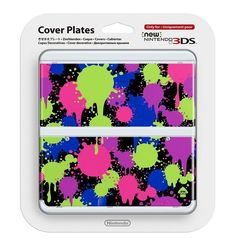 NEW Nintendo 3DS Kisekae Cover plates No.060 Splatoon Airmail from Japan #Nintendo