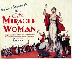The Miracle Woman (1931) Barbara Stanwyck, Beryl Mercer, David Manners, Frank Capra