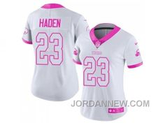 http://www.jordannew.com/womens-nike-cleveland-browns-23-joe-haden-white-pink-stitched-nfl-limited-rush-fashion-jersey-discount.html WOMEN'S NIKE CLEVELAND BROWNS #23 JOE HADEN WHITE PINK STITCHED NFL LIMITED RUSH FASHION JERSEY DISCOUNT Only 21.10€ , Free Shipping!
