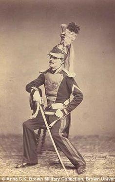Monsieur Mauban of the 8th Dragoon Regiment of 1815...