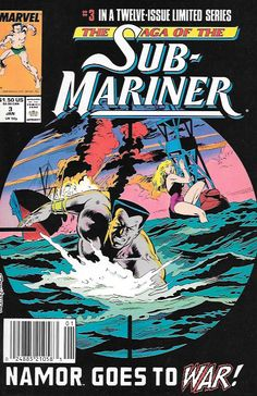A Prince in New __script by Roy Thomas and Dann Thomas, pencils by Rich Buckler , Cover art by Rich Buckler , The Story ...retells Namor's first visit to New York from Marvel Mystery #1-4