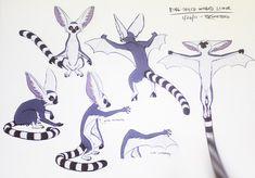 New design for lying lemur from Avatar: Legend of Korra Avatar Aang, Avatar The Last Airbender, Arma Steampunk, Avatar Animals, Avatar Series, Sketches Tutorial, Sinbad, Animal Sketches, Legend Of Korra